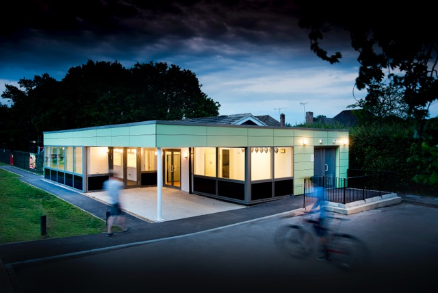 Sports Pavilion In Hampshire