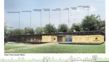 Passivhaus Visitors Hub For Langley Vale