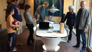 Busy Passivhaus Open Days 2015