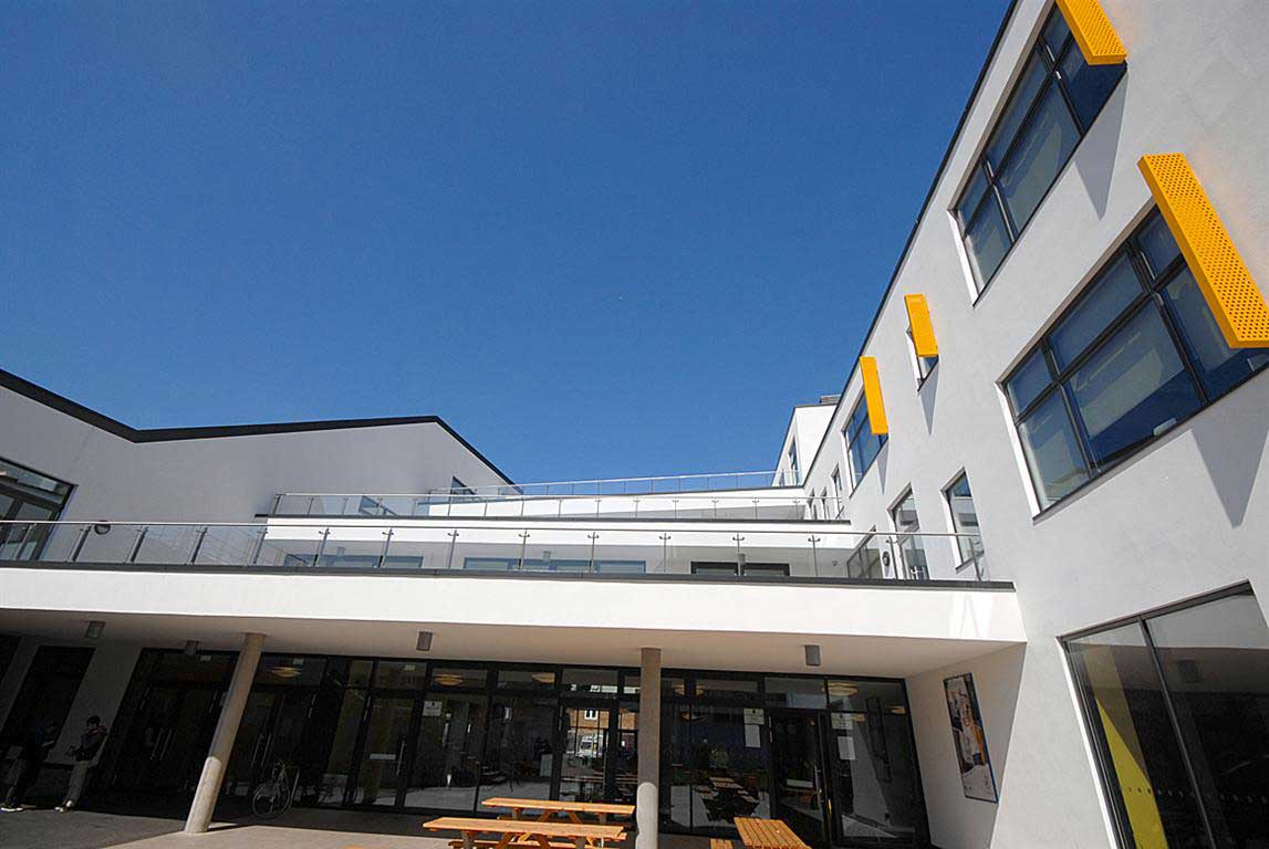 Projects ruth butler architect for 02 academy balcony