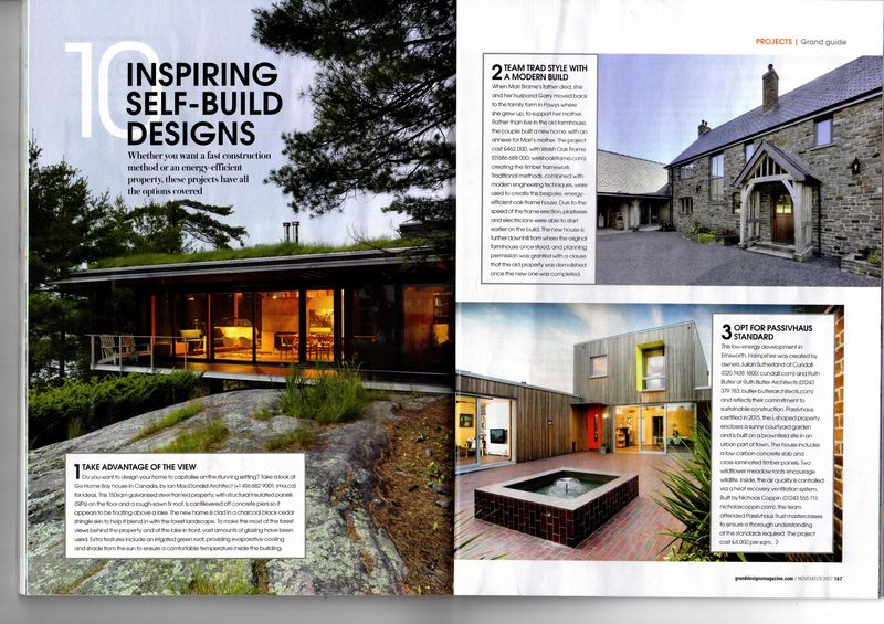 Grand Designs Magazine Ruth Butler Architect