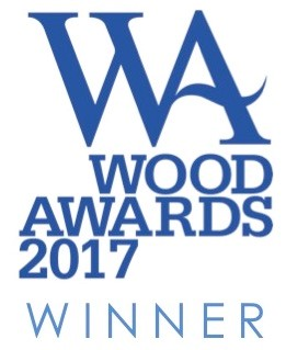 wood award winner logo
