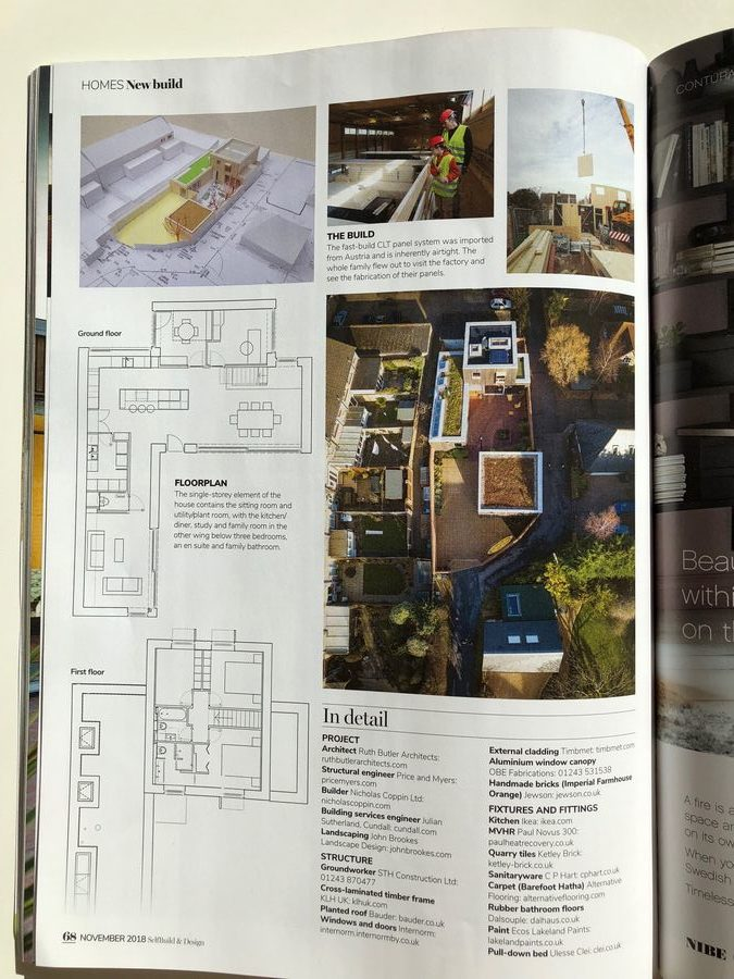 self build and design magasine